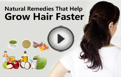8 Natural Remedies For Faster Hair Growth