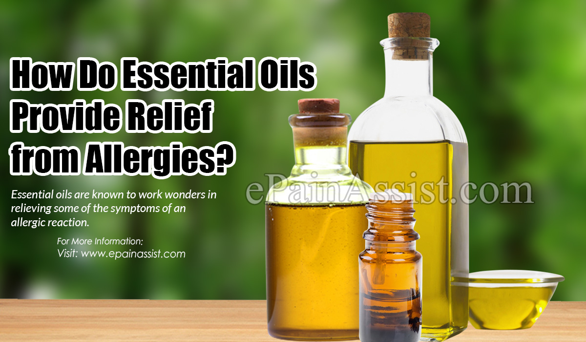 How Do Essential Oils Provide Relief from Allergies?