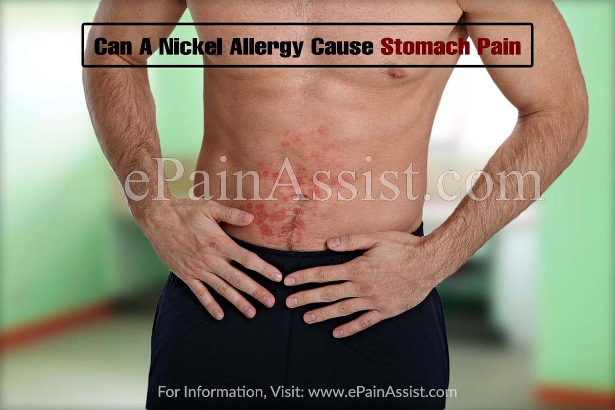 Can Nickel Allergy Cause Stomach Problems?