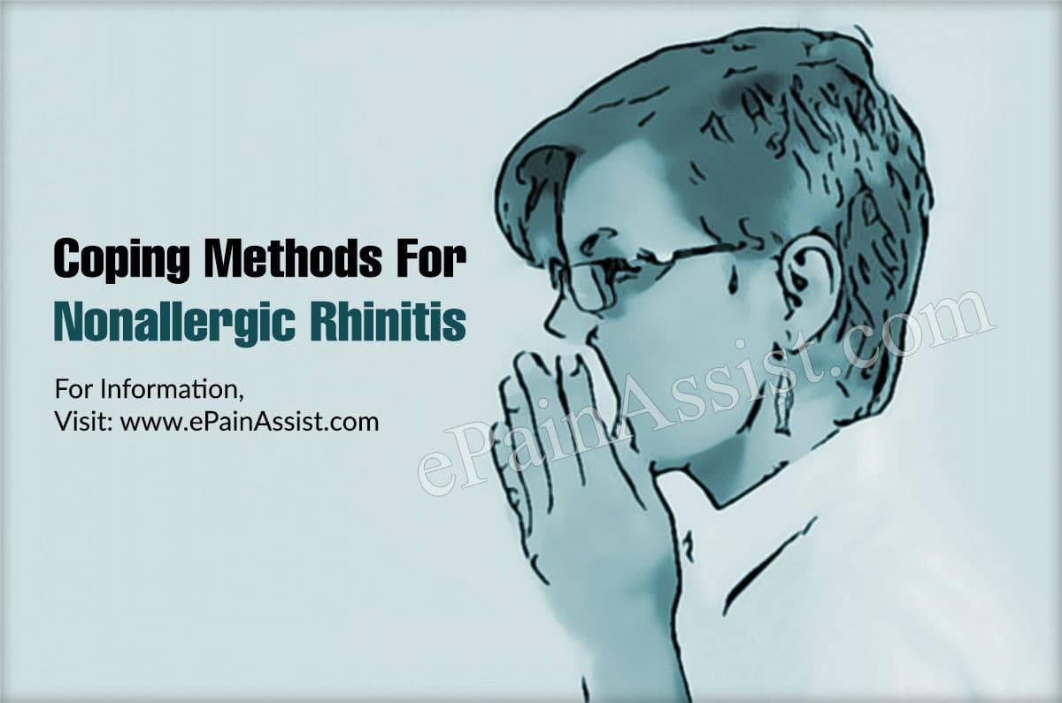 Coping Methods To Deal With Nonallergic Rhinitis