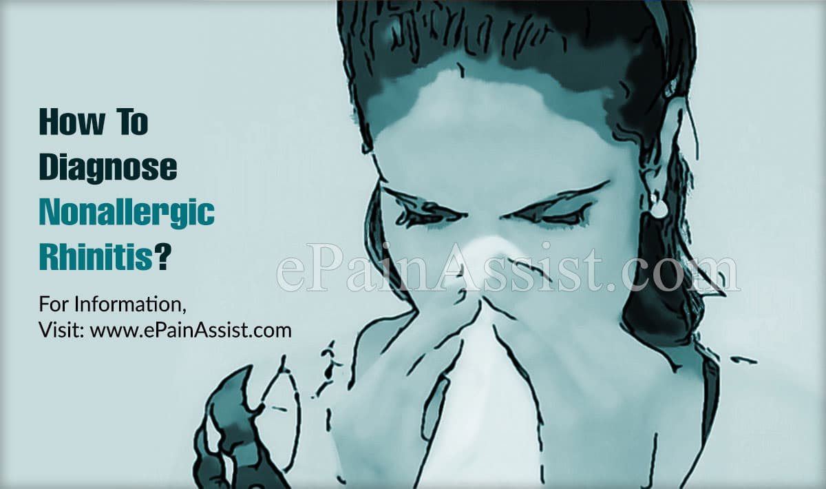 How To Diagnose Nonallergic Rhinitis?