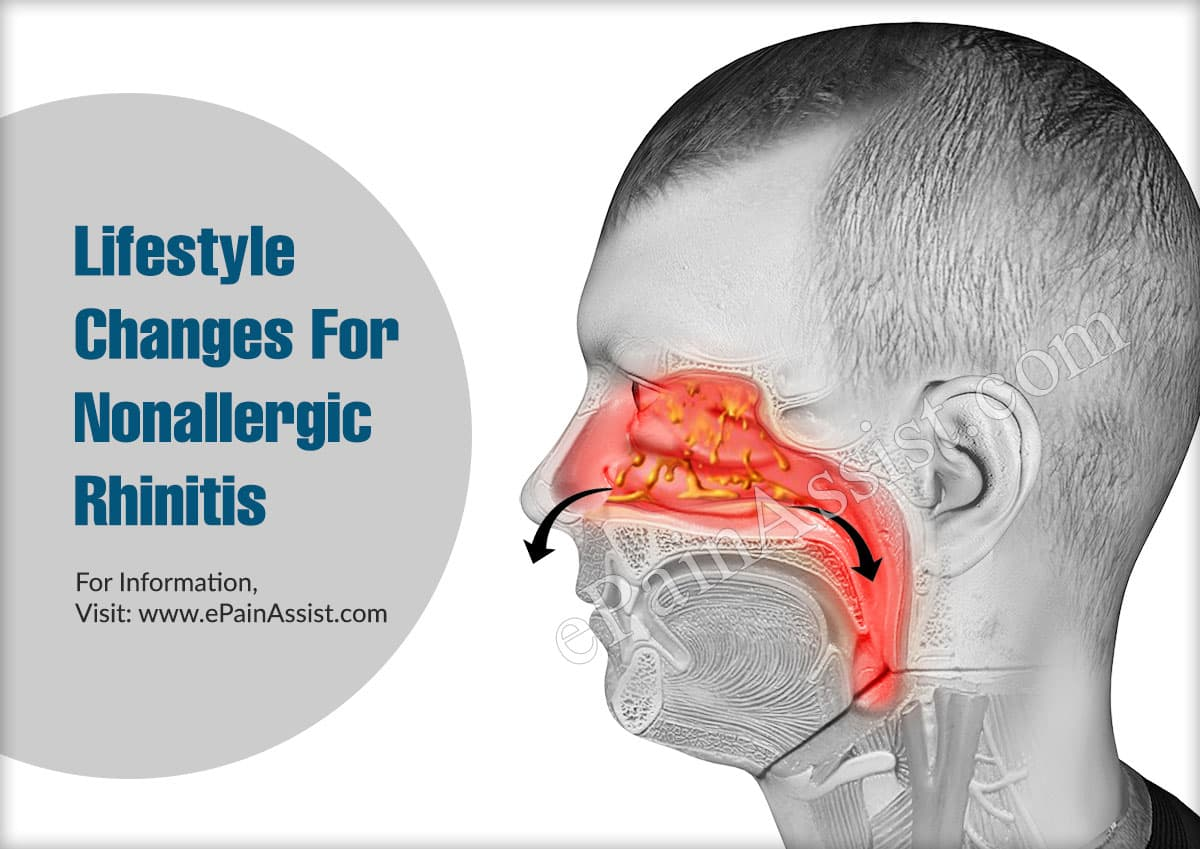 Lifestyle Changes To Deal With Nonallergic Rhinitis