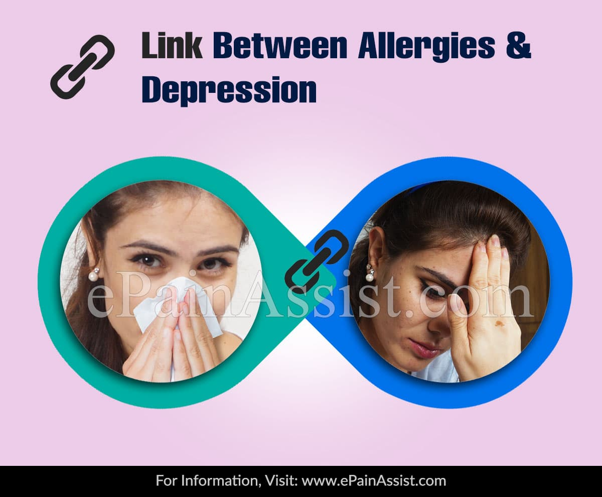 Link Between Allergies and Depression