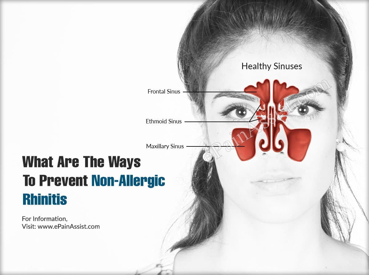 What Are The Ways To Prevent Non-Allergic Rhinitis?