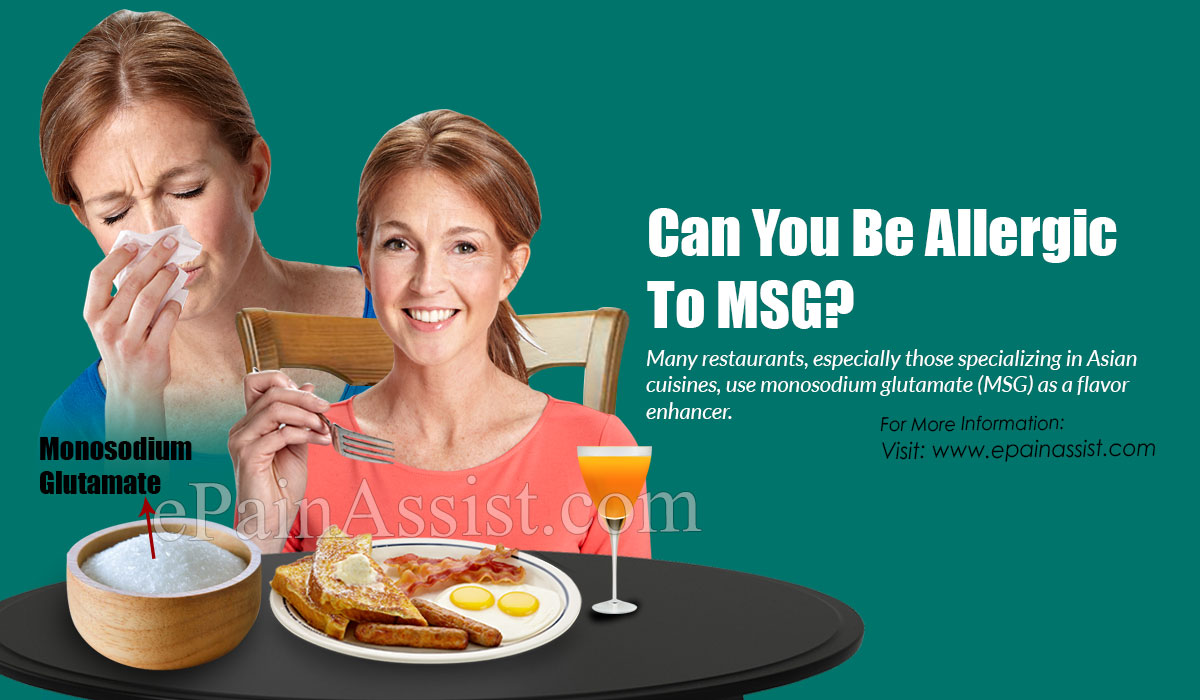 Can You Be Allergic To MSG?