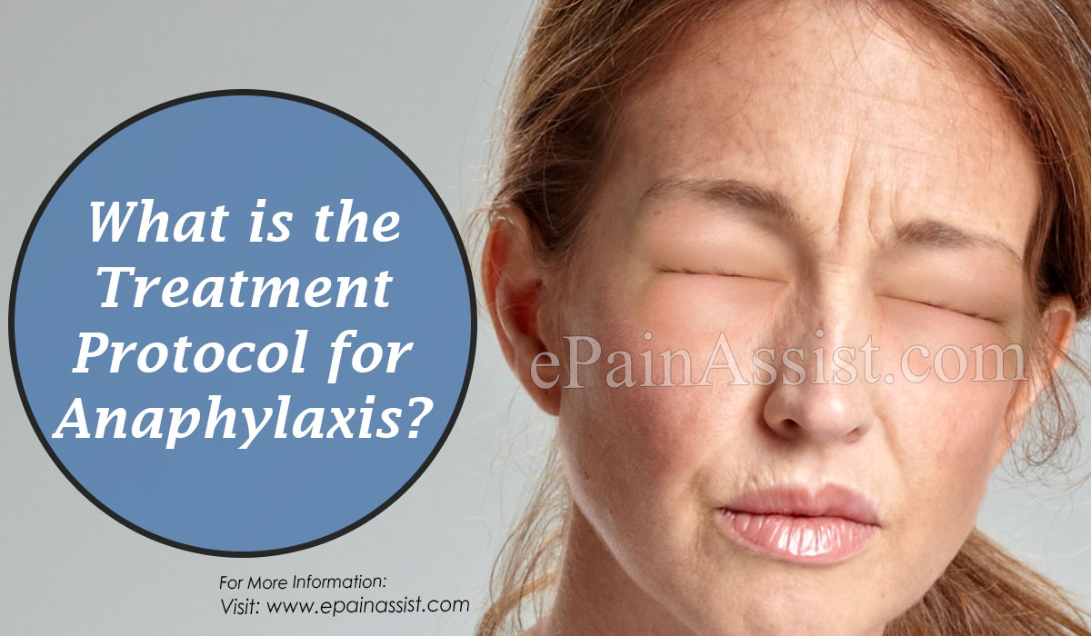What is the Treatment Protocol for Anaphylaxis?