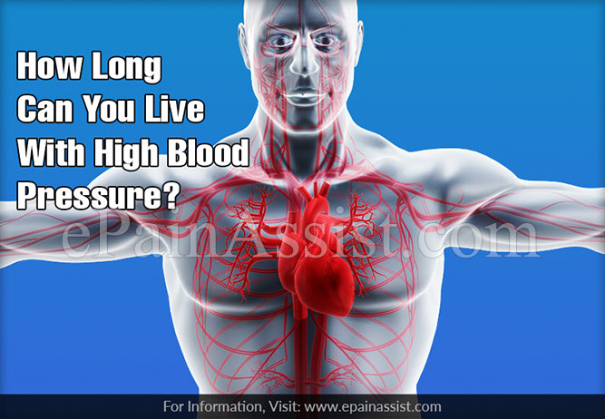 How Long Can You Live With High Blood Pressure?