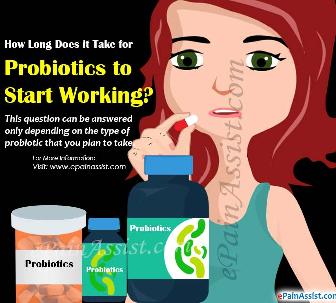 How Long Does it Take for Probiotics to Start Working?