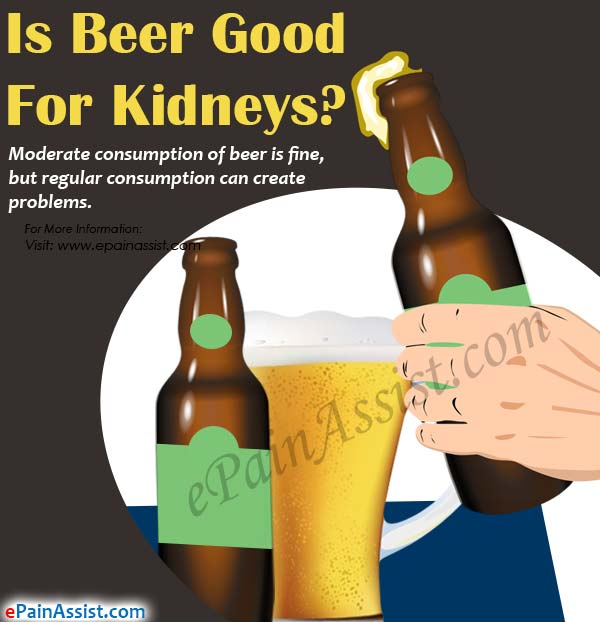 Is Beer Good For Kidneys?
