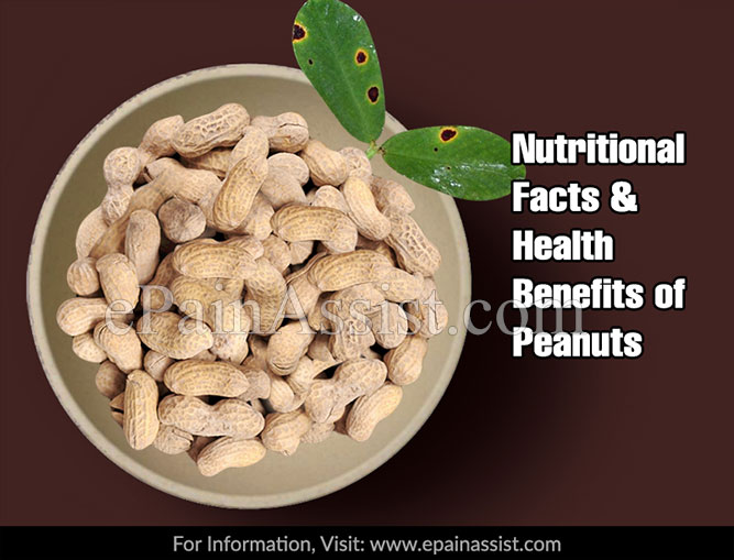 Nutritional Facts & Health Benefits of Peanuts