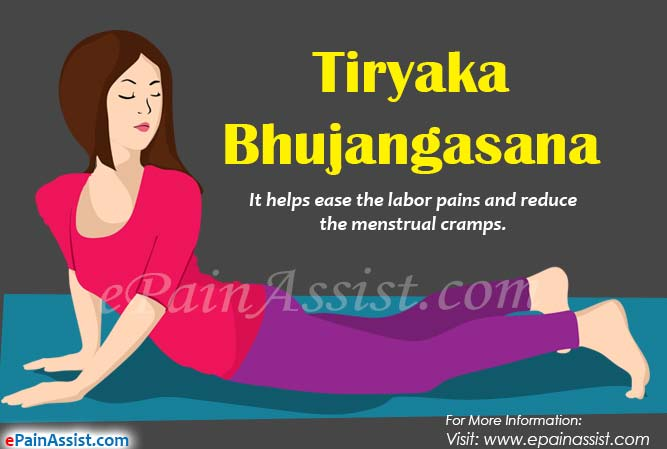 How To Do Tiryaka Bhujangasana Or The Twisting Cobra Pose