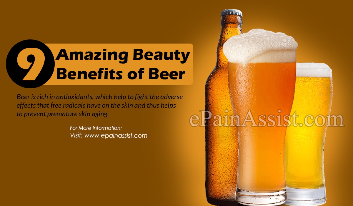 9 Amazing Beauty Benefits Of Beer