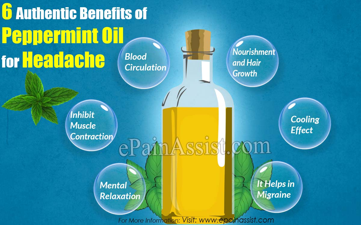 6 Authentic Benefits of Peppermint Oil for Headache