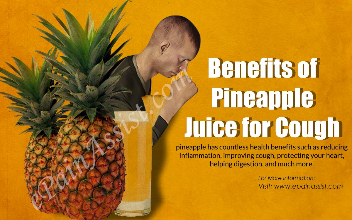 Benefits of Pineapple Juice for Cough
