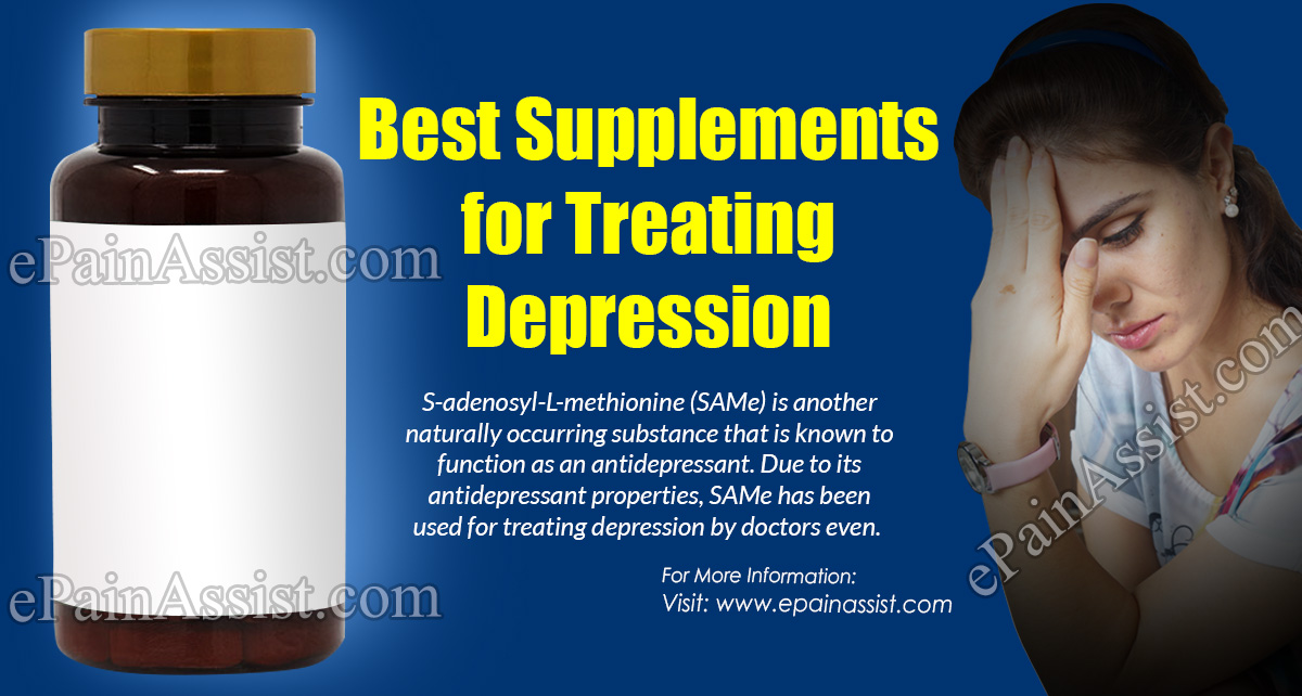 Best Supplements for Treating Depression