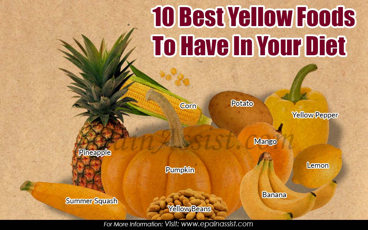 10 Best Yellow Foods To Have In Your Diet