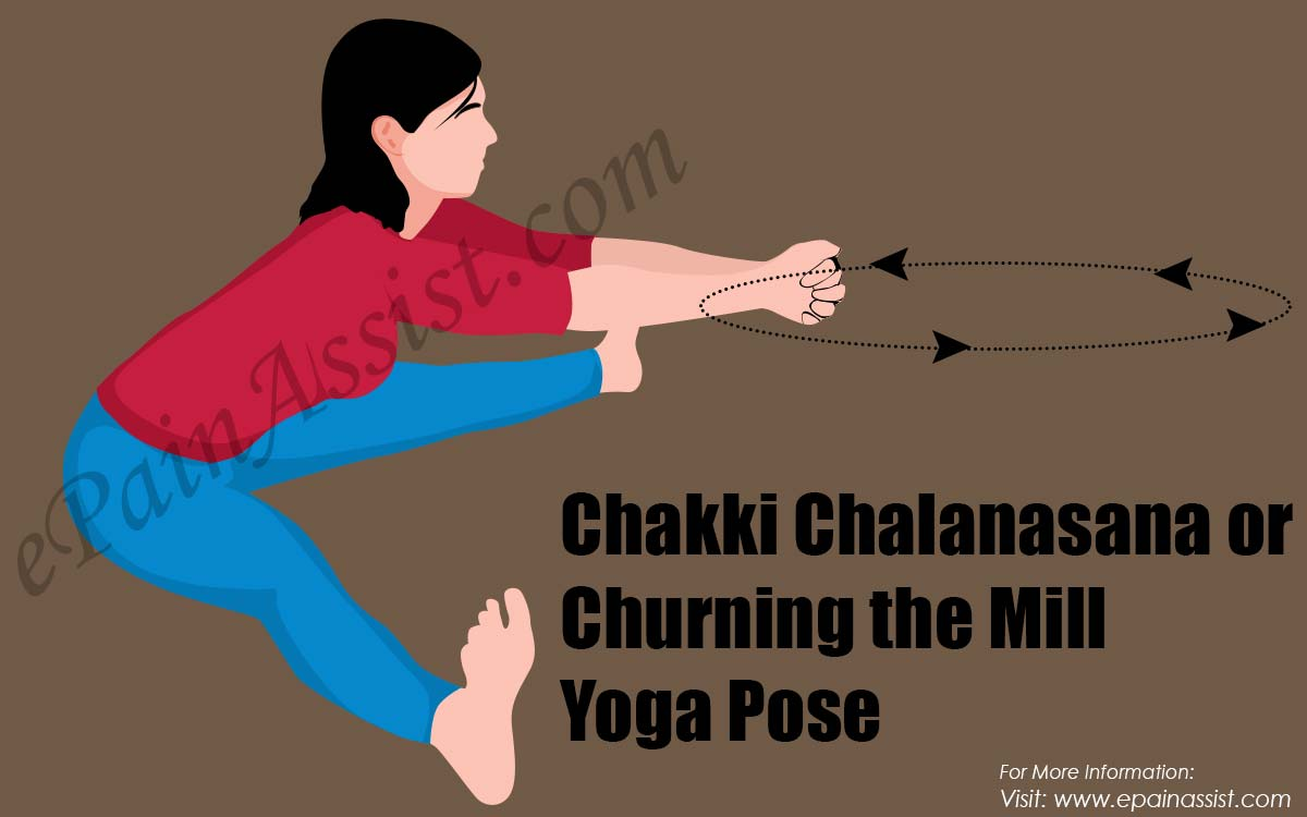 Chakki Chalanasana or Churning the Mill Yoga Pose