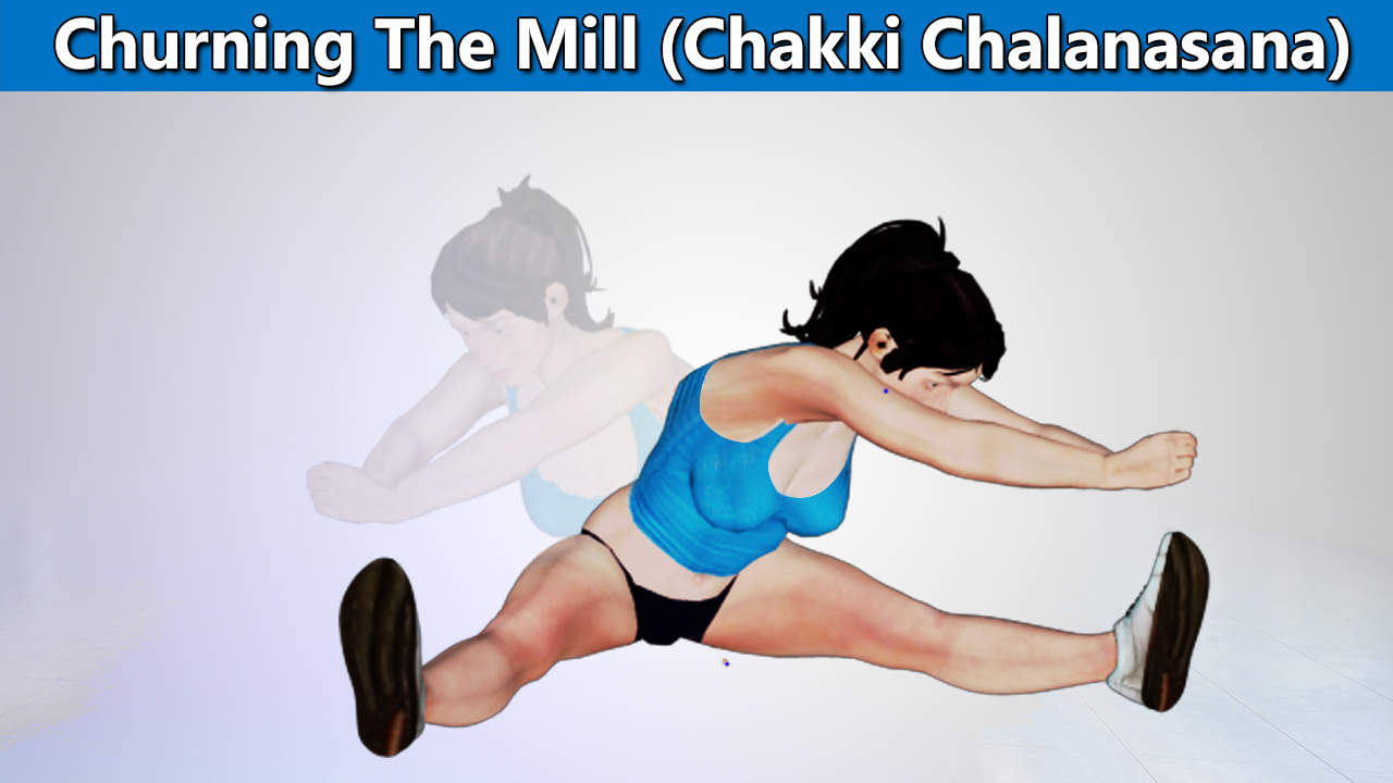 Churning The Mill (Chakki Chalanasana)