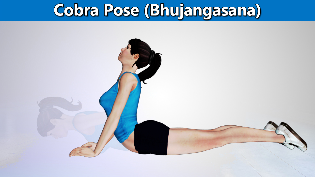 Bhujangasana or the Cobra Pose for Upper Back Pain