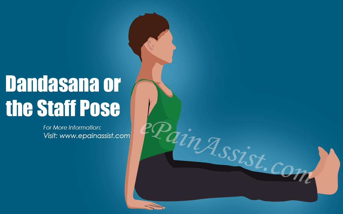 Dandasana or the Staff Pose