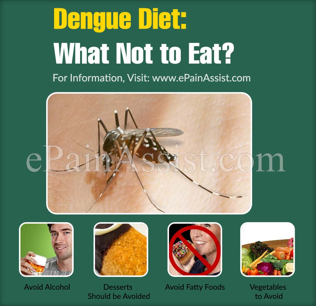 Dengue Diet: What Not to Eat?