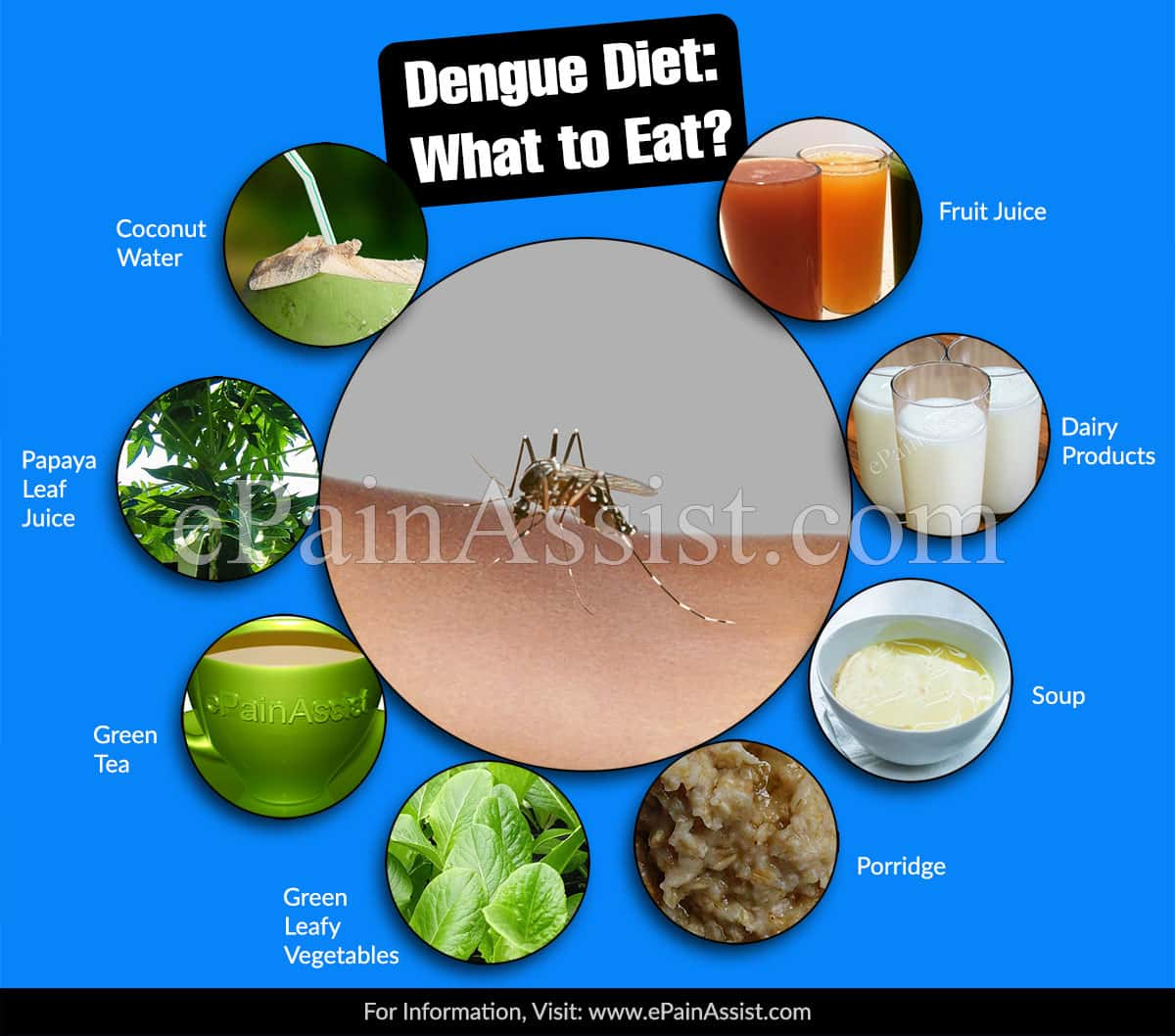 Dengue Diet: What to Eat?