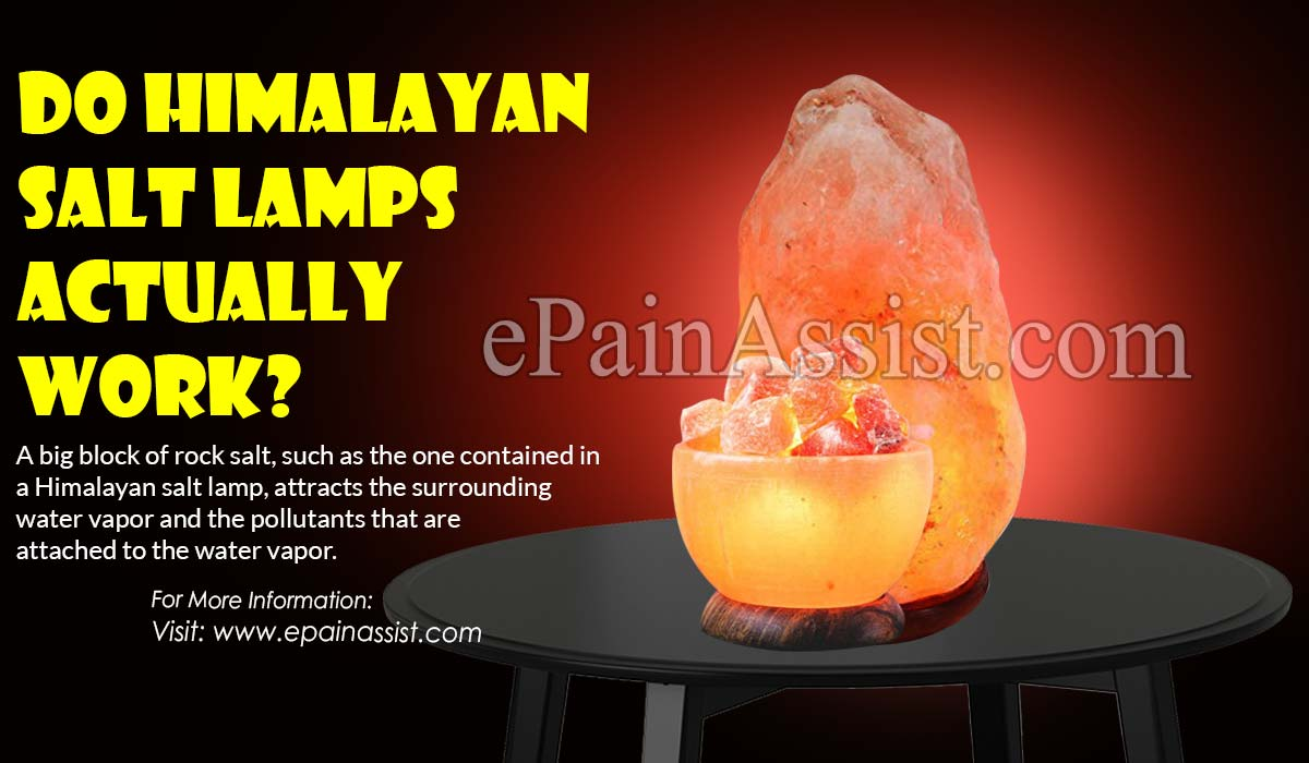 Do Himalayan Salt Lamps Actually Work?