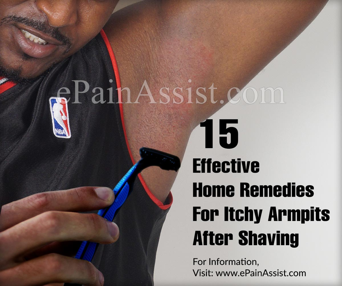 15 Effective Home Remedies For Itchy Armpits After Shaving