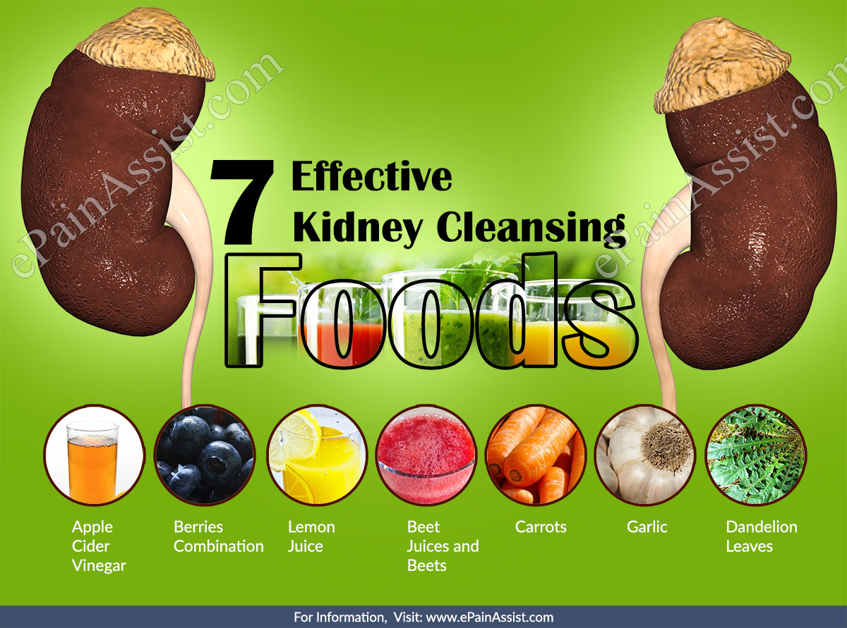 7 Effective Kidney Cleansing Foods