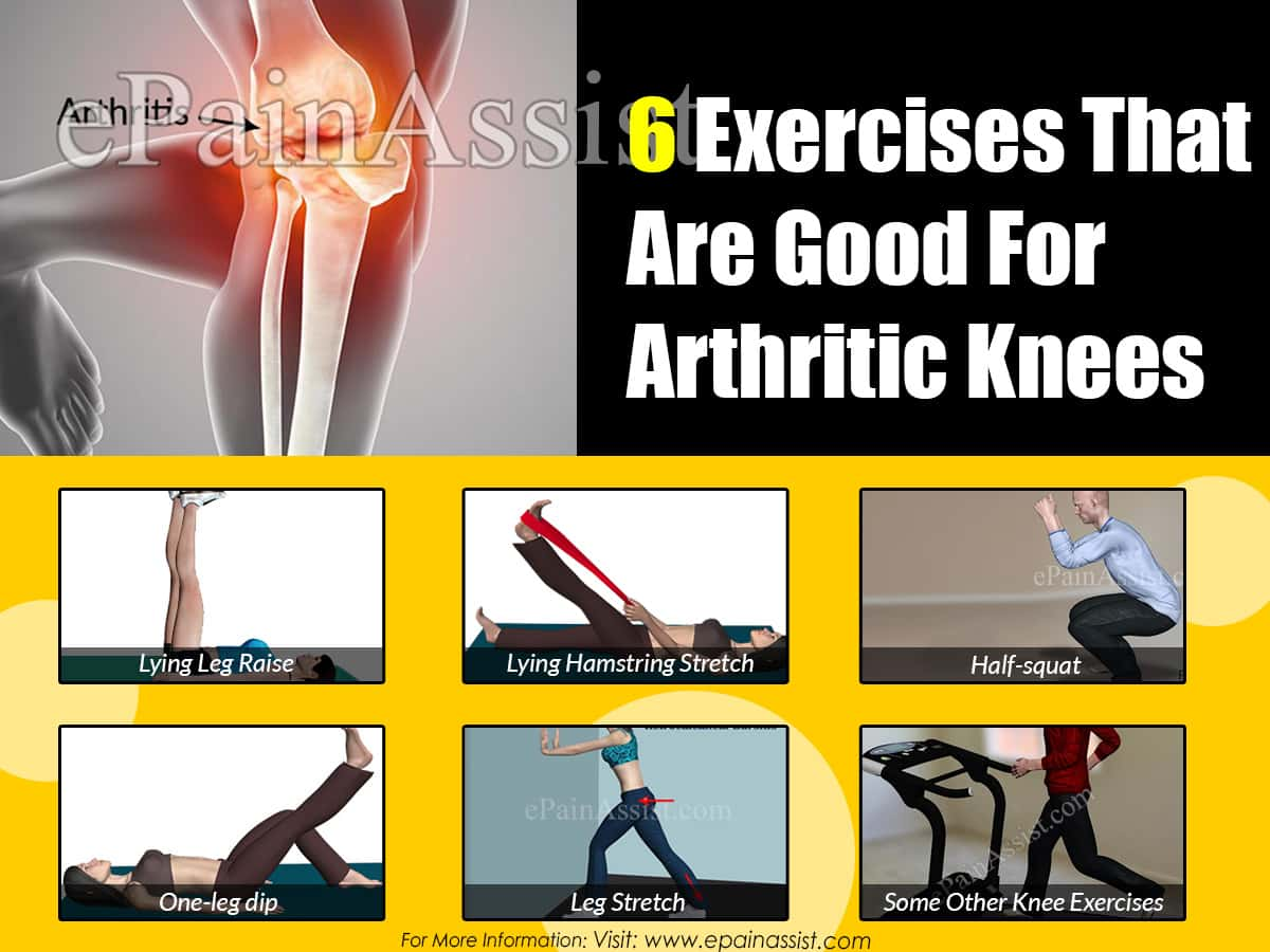 6 Exercises That Are Good For Arthritic Knees