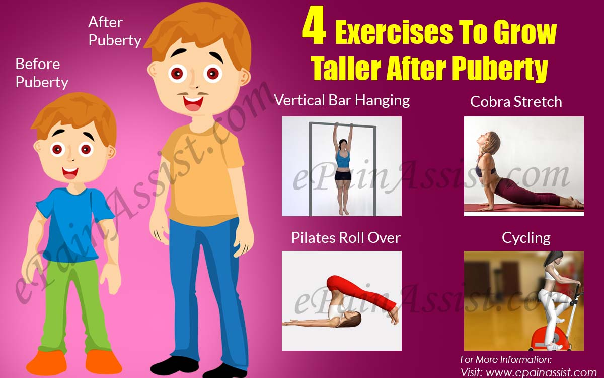 4 Exercises To Grow Taller After Puberty
