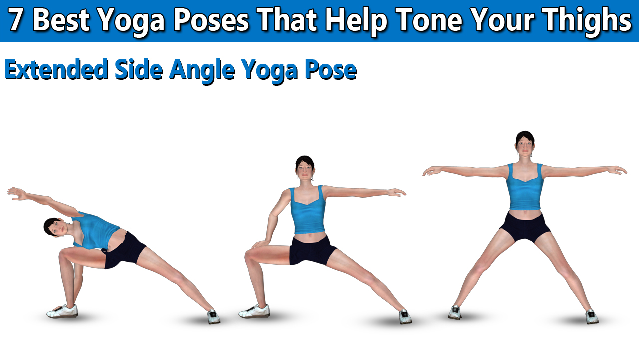 Extended Side Angle Yoga Pose
