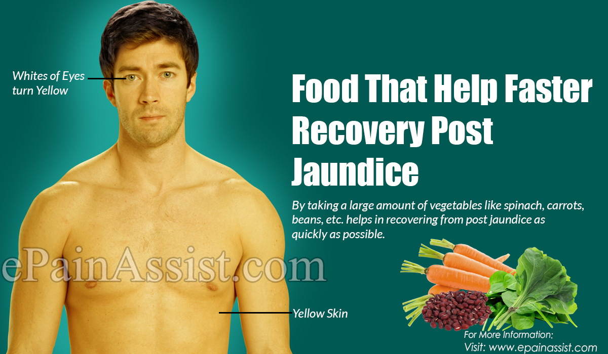 Food That Help Faster Recovery Post Jaundice