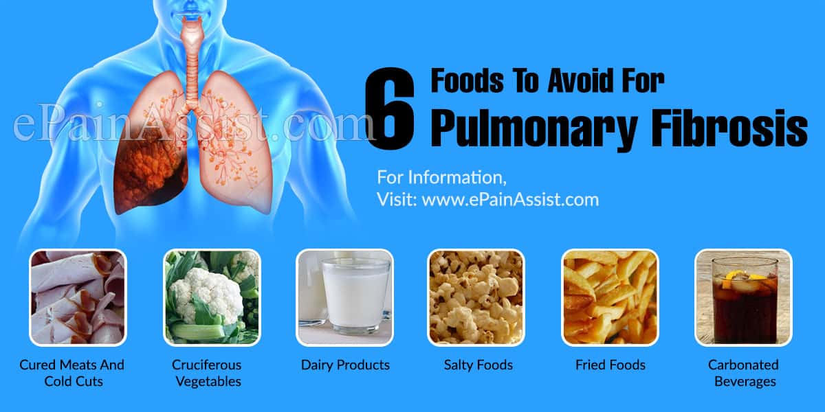 6 Foods To Avoid For Pulmonary Fibrosis