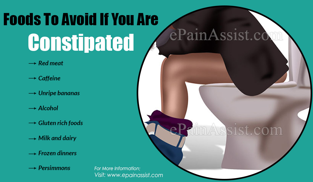 Foods To Avoid If You Are Constipated