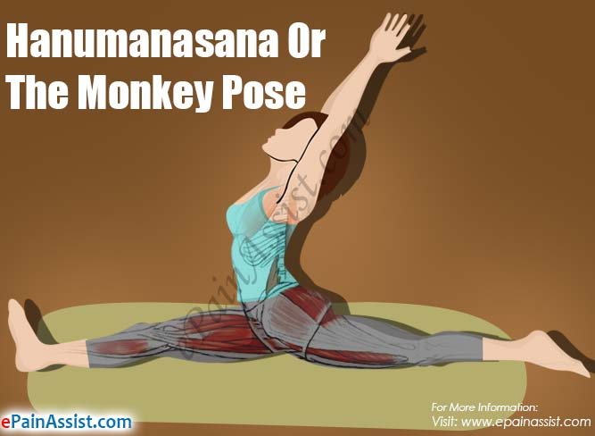 Hanumanasana Or The Monkey Pose