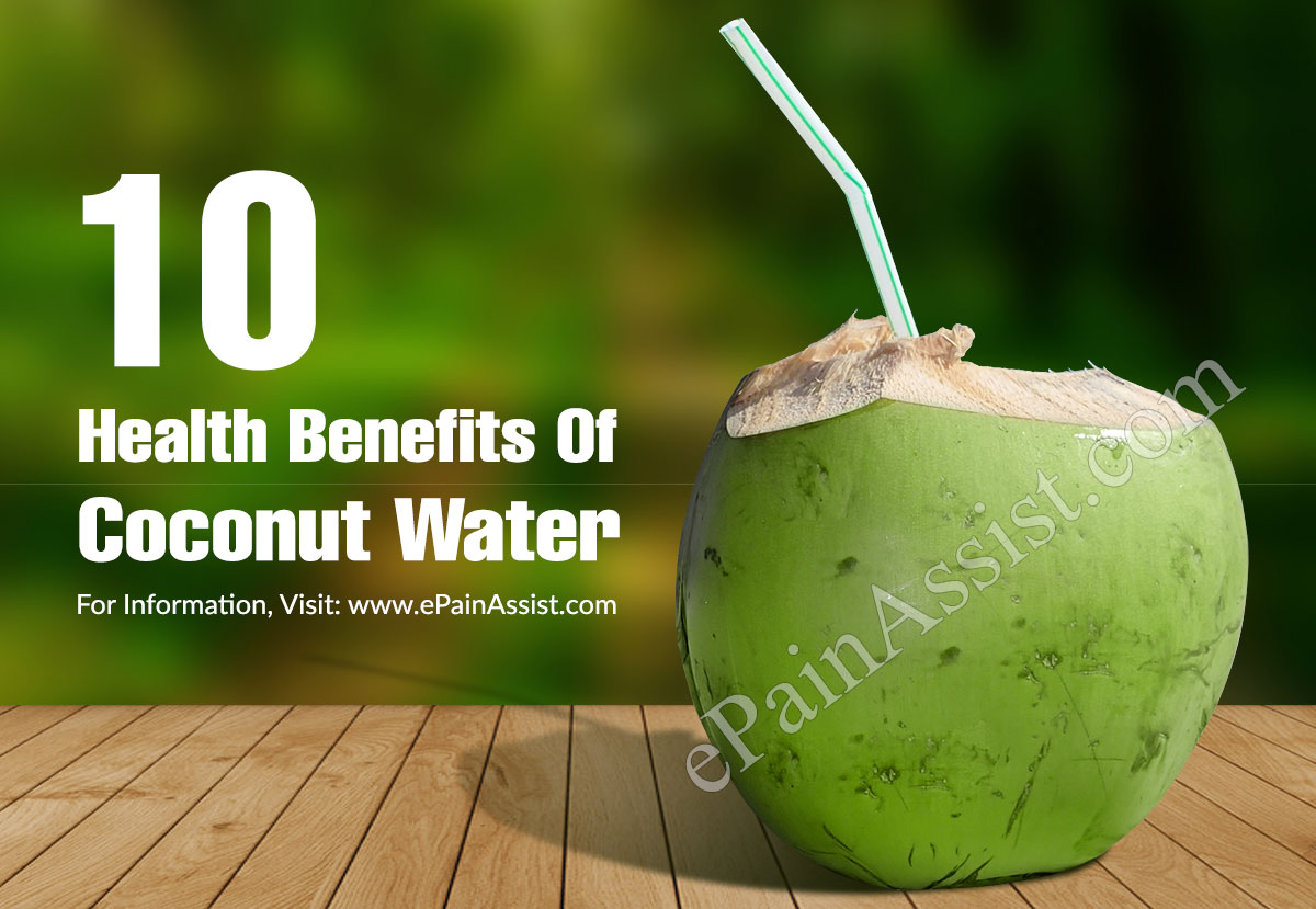 10 health benefits of coconut water