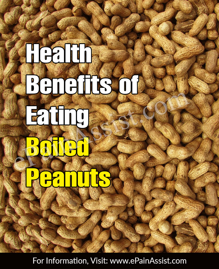 Health Benefits of Eating Boiled Peanuts (Groundnuts or Mungfali)