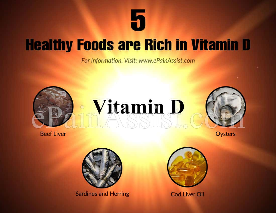 5 Healthy Foods are Rich in Vitamin D