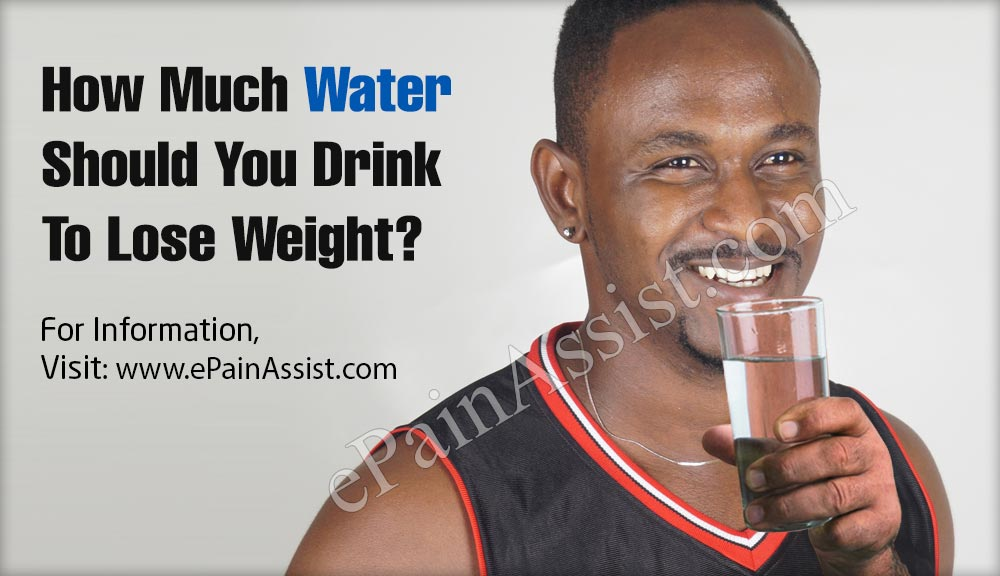 How Much Water Should You Drink To Lose Weight?