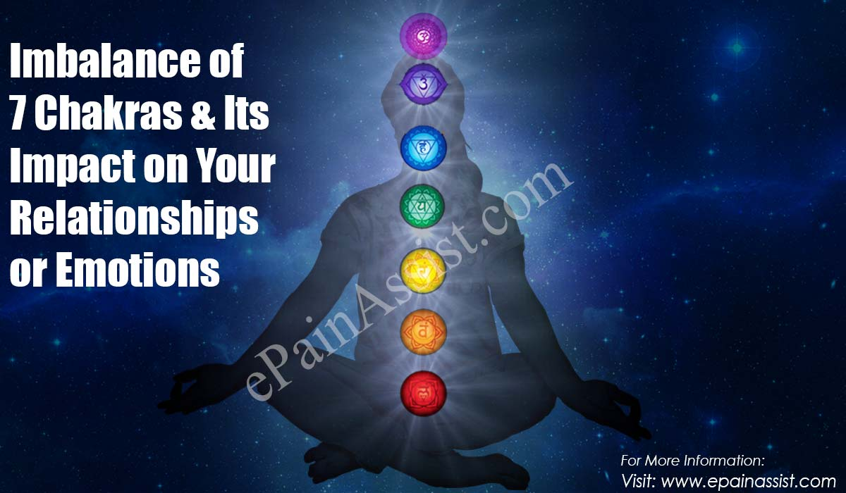 Imbalance of 7 Chakras & Its Impact on Your Relationships or Emotions
