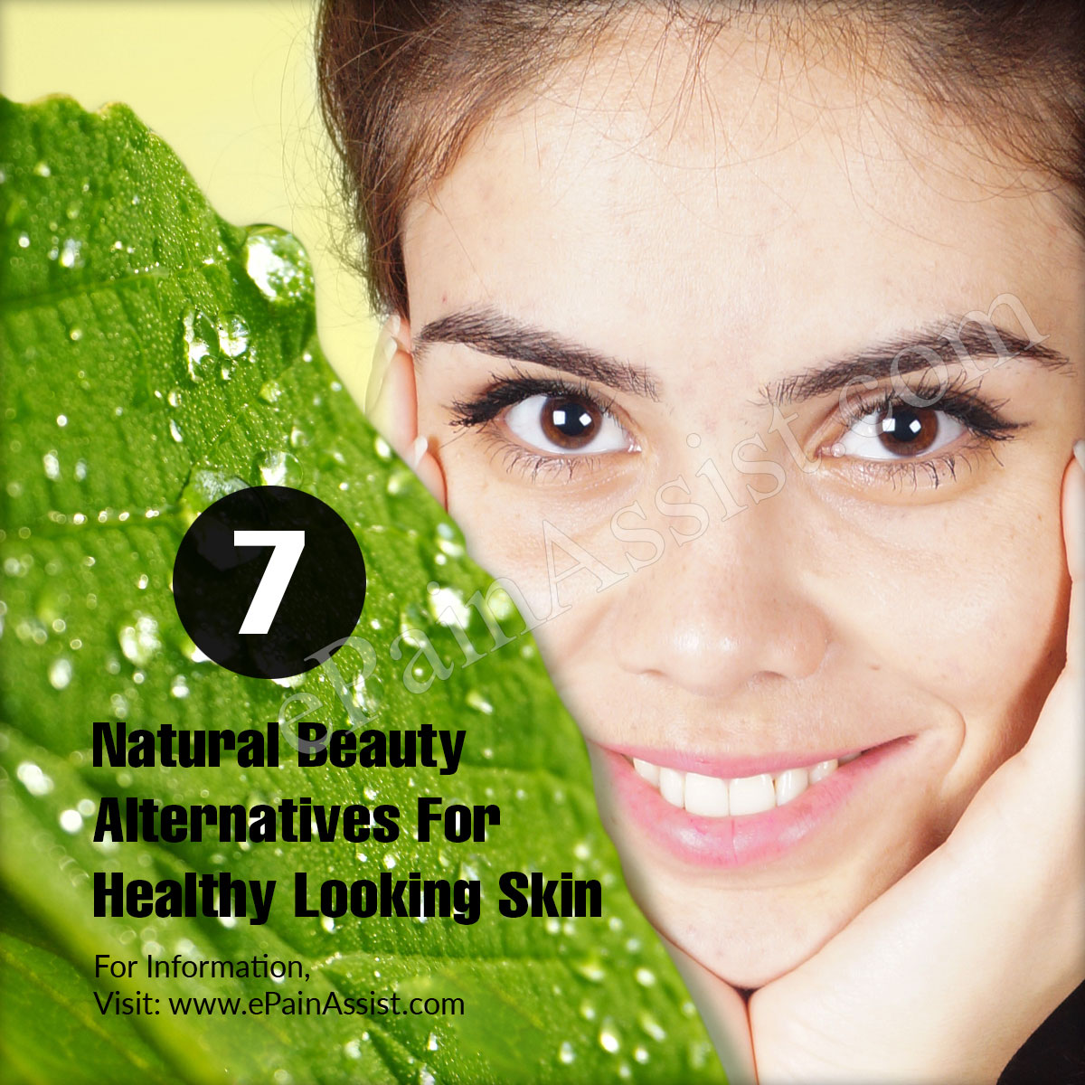 7 Natural Beauty Alternatives For Healthy Looking Skin