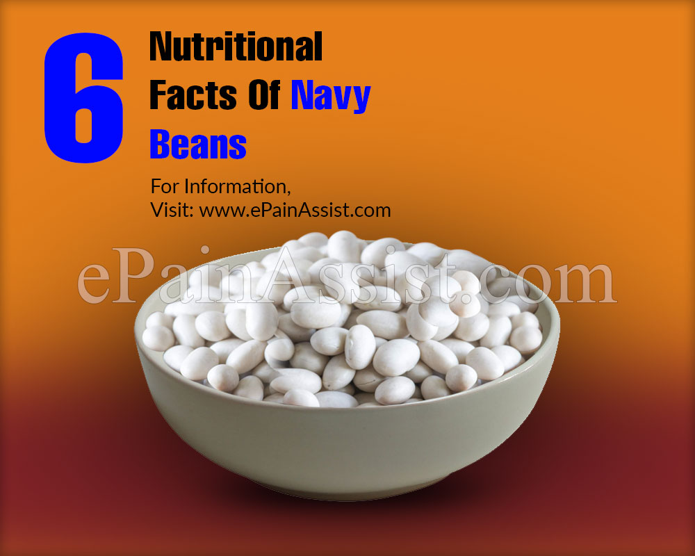 6 Nutritional Facts Of Navy Beans (Boston Pea Beans) & Its 8 Health Benefits