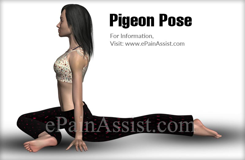 Pigeon Pose Exercise To Help You Do Splits