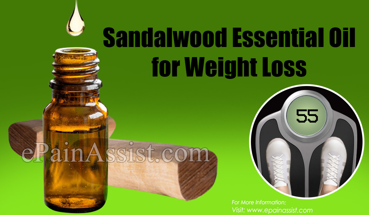 Sandalwood Essential Oil for Weight Loss