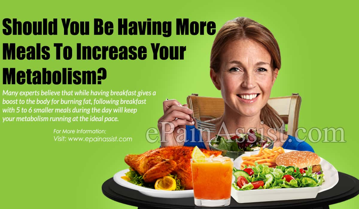 Should You Be Having More Meals To Increase Your Metabolism?