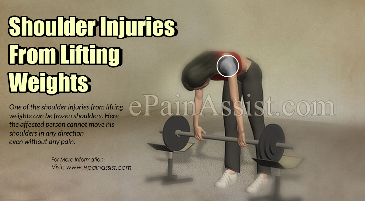 Shoulder Injuries From Lifting Weights