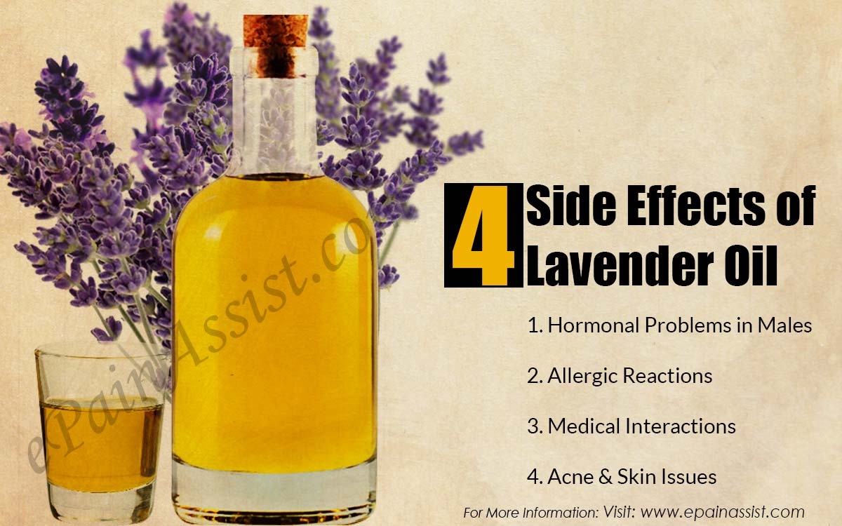 Side Effects of Lavender Oil
