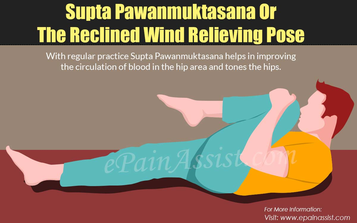 Technique Of Practicing Supta Pawanuktasana Or The Reclined Wind Relieving Pose