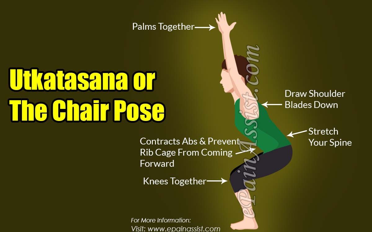 How to Do Utkatasana or the Chair Pose